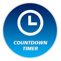 นาฬิกานับถอยหลังออนไลน์ (Countdown Clock)
